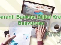 Garanti Bankası Dijital Kredi Başvurusu