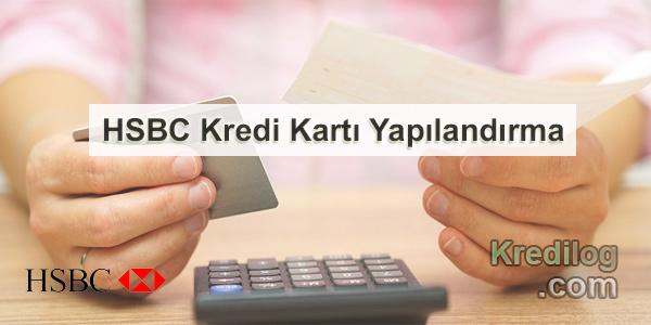 HSBC Kredi Kartı Yapılandırma