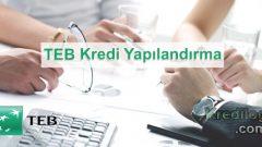 TEB Kredi Yapılandırma 2018
