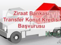Ziraat Bankası Transfer Konut Kredisi Başvurusu