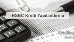 HSBC Kredi Yapılandırma 2018