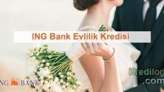 ING Bank Evlilik Kredisi Başvurusu 2018