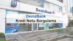 Kredi Notu Sorgulama Denizbank