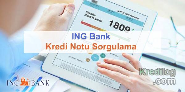 Kredi Notu Sorgulama ING Bank