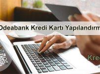Odeabank Kredi Kartı Yapılandırma