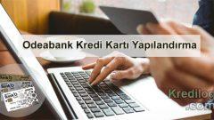Odeabank Kredi Kartı Yapılandırma 2019
