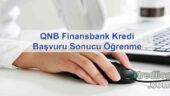 QNB Finansbank Kredi Başvuru Sonucu Öğrenme