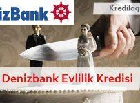Denizbank Evlilik Kredisi