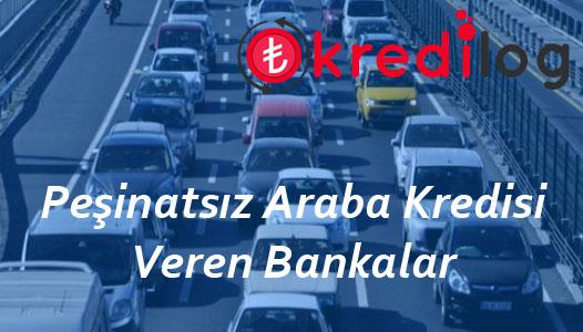 Peşinatsız Araba Kredisi