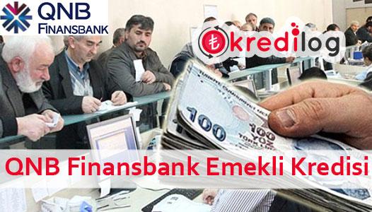 QNB Finansbank Emekli Kredisi