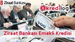 Ziraat Bankası Emeklilere Özel İhtiyaç Kredisi Başvurusu 2018