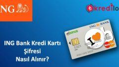 ING Bank(Bonus) Kredi Kartı Şifresi Nasıl Alınır?