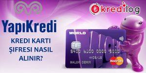 Yapı Kredi Kredi Kartı Şifre Alma