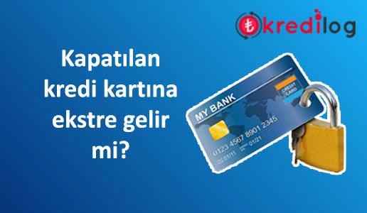 """""""Kredi kartımı iptal ettirmeme rağmen hala ekstre geliyor"""" ne yapmalıyım?"""