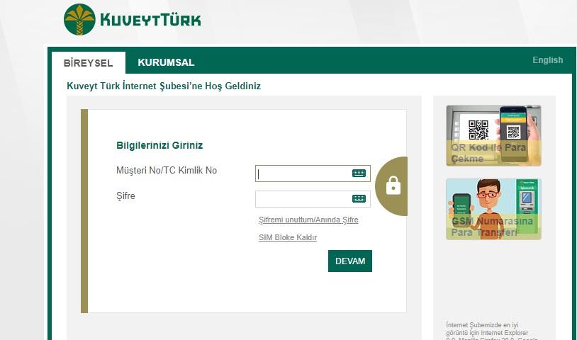 Kuveyt Türk İnternet Bankacılığı 4