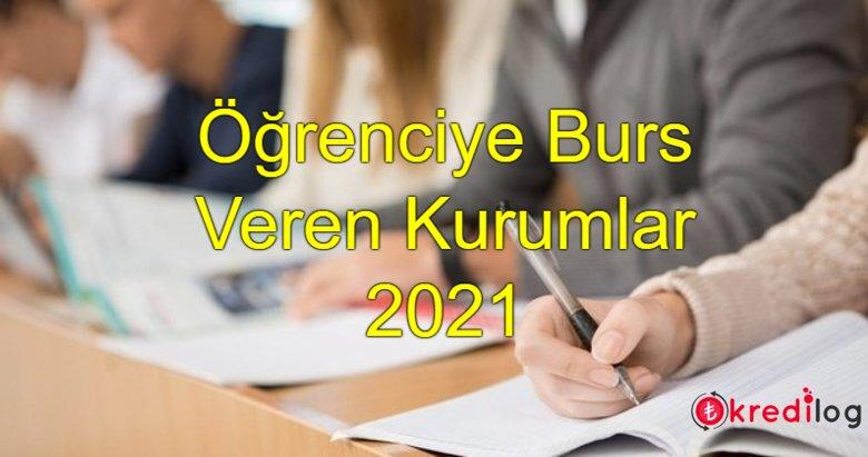 Öğrenciye Geri Ödemesiz Burs Başvuruları 2021