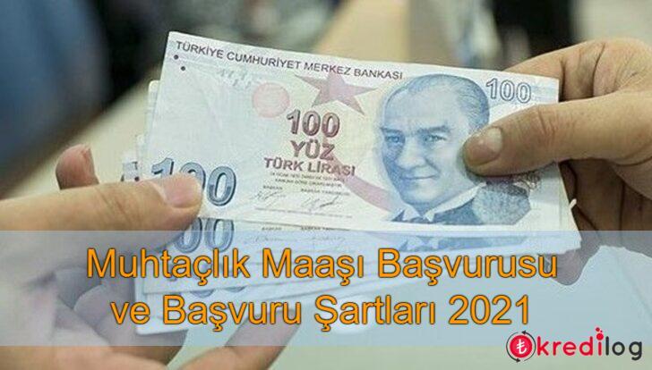 Muhtaçlık Maaşı Başvurusu ve Şartları 2021